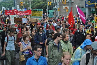 Photo: Over 10, 000 people from all across Canada took to the streets of downtown Toronto during the G20 Summit weekend in a powerful display of popular resistance to the global austerity agenda.