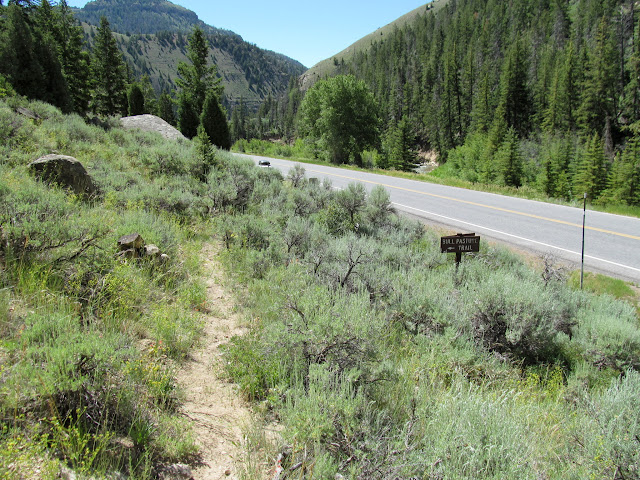 Bottom of the trail at Highway 31