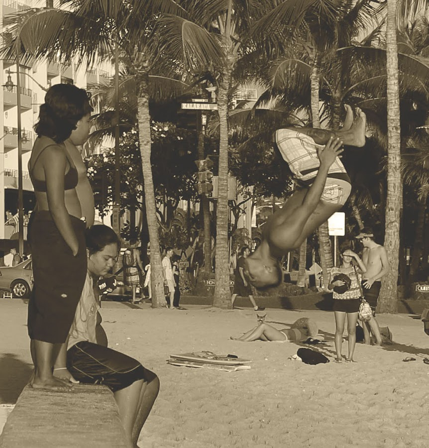 summer fun in Waikiki  by Michael Guerrero - Novices Only Street & Candid