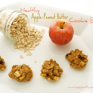 Apple Peanut Butter Cookie Bites