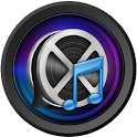 Multimedia - mix audio video icon