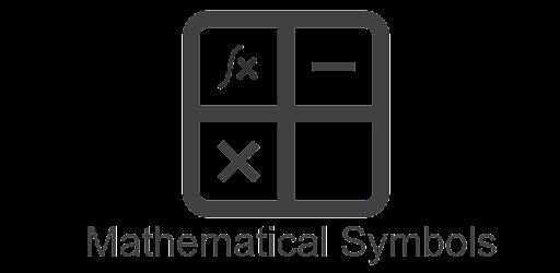 Mathematical Symbols - Apps on Google Play