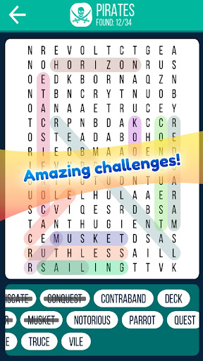 Word Search 2019: Word searching game for free screenshot 4