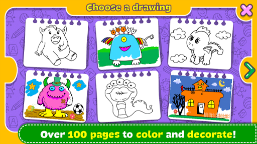 Fantasy - Coloring Book & Games for Kids 1.17 screenshots 19