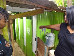 Photo: Kibera, Lindi School using composting toilets