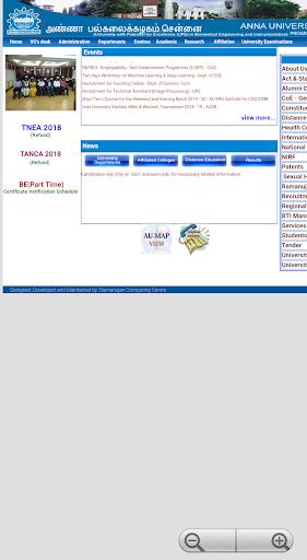 AU Results & Info screenshot 4