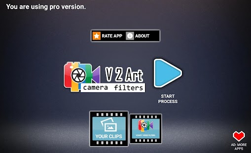 V2Art 🔥 video effects and filters Screenshot