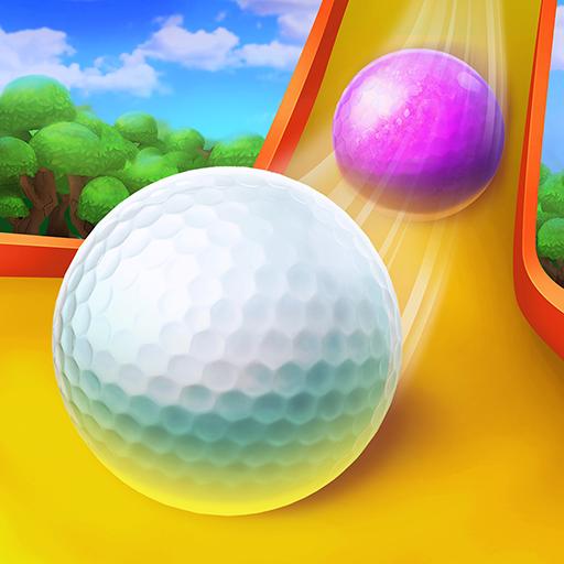 Divirta-se no campo de mini golfe no melhor jogo de golfe multijogador 1v1 PvP!