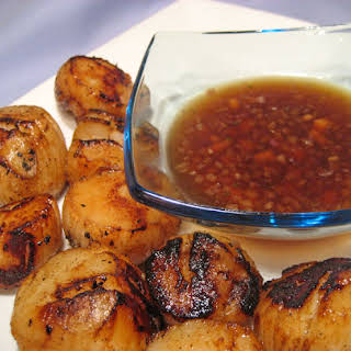 Grilled Scallops With Sauce Recipes.