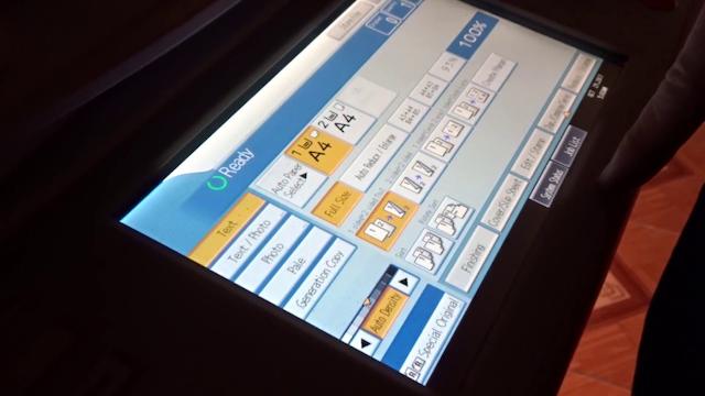 Các bước sử dụng máy photocopy RICOH MP 3054 hiệu quả