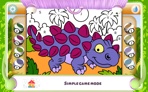 Paint by Numbers - Dinosaurs 2.2 screenshots 19