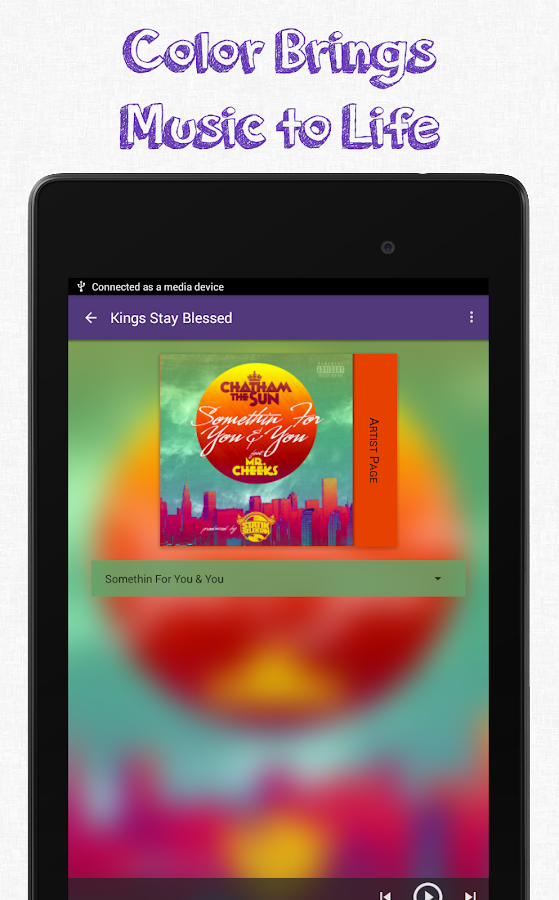 Slipstream Group Music Player- screenshot