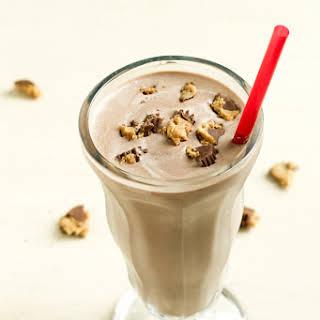 Chocolate and Peanut Butter Milkshake.