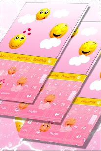 Emojis Keyboard Theme Free - náhled