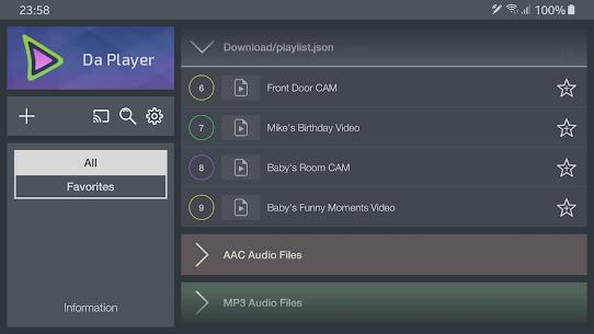 Da Player – Video and live stream player Mod 4.07 Apk [Unlocked] 5
