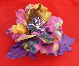 Photo: Цветы из ткани своими руками, Татьяна, Самара - Фантазийный шелковый пион...