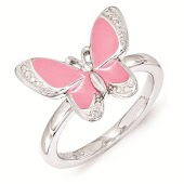 Butterfly and Rings