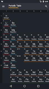 Periodic table 2018 pro v0139 apk apkify periodic table 2018 pro screenshot urtaz Choice Image