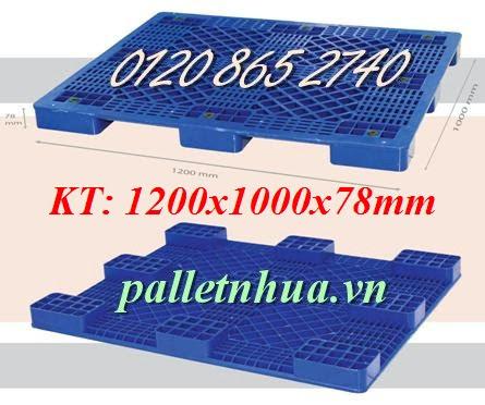 Pallet nhựa cao 78mm