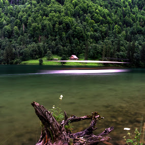 The Koenigssee in Berchtesgaaden by Patrick Imbacher - Nature Up Close Water