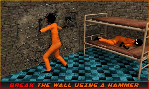 Stickman Prison Escape Story apklade screenshots 2