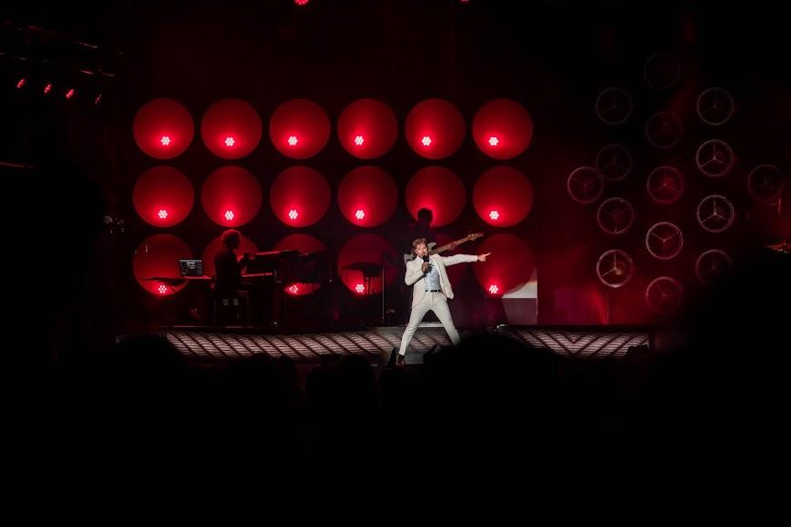 El concierto acogió a más de 1500 personas