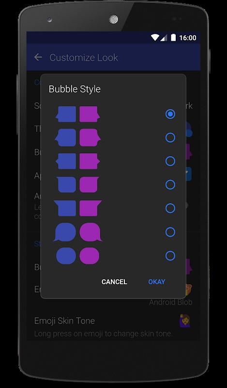 Textra SMS screenshots