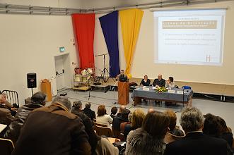 Photo: Evento realizado no auditório da Escola Secundária Rafael Bordalo Pinheiro