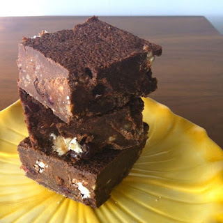 Quinoa Goat Cheese Brownies