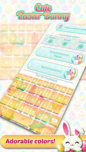 玩免費通訊APP|下載復活節兔子鍵盤主題 app不用錢|硬是要APP
