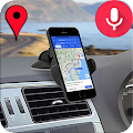 Voice GPS Driving Directions: Earth Map Satellite
