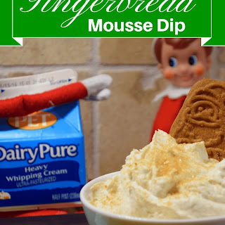 5 Minute Gingerbread Mousse Dip
