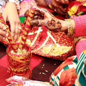 Wedding ceremony by Anurag Bhateja - Wedding Ceremony ( hindu, indian ceremony, hindu wedding, india, groom ceremony, hindu ceremony )