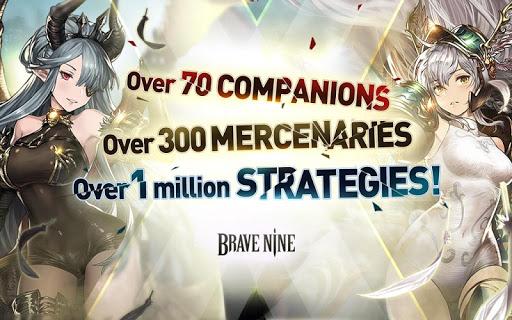 Brave Nine - Tactical RPG 1.62.11 screenshots 16