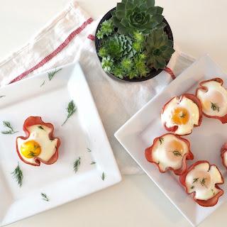 Ham and Eggs Cupcakes