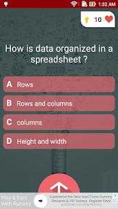 Free Microsoft Excel Test Quiz 2