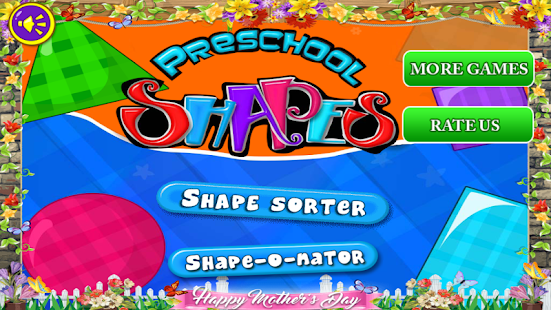 Preschool Shapes Lite - náhled