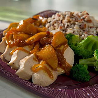 Chicken Breasts with Apple-Curry Sauce.