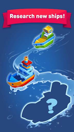 Merge Ship: Idle Tycoon - screenshot