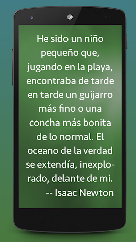 android Frases de Ciencia Screenshot 0