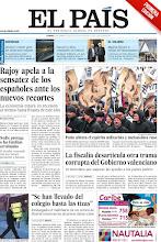 """Photo: Rajoy pide """"sensatez"""" a los españoles ante los nuevos recortes. Embargadas hasta las tizas de un colegio de Madrid en plena clase. La Fiscalía desarticula otra trama en el Gobierno valenciano. Y una reflexión sobre la dación en pago: nadie protege a las familias arruinadas, en la portada de este jueves 24 de febrero. http://ep00.epimg.net/descargables/2012/02/24/ffd1ae47f8db4a350bc8da03e5d263a6.pdf"""