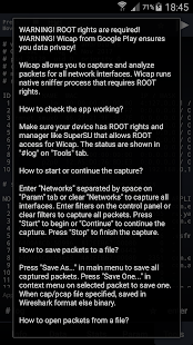 Wicap. Sniffer Pro [ROOT] Screenshot