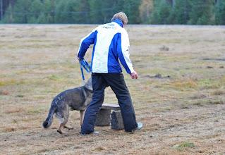 Photo: Cato og Ayla i øvelsen hopp