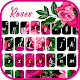 Hot Pink Roses Keyboard Theme Download on Windows