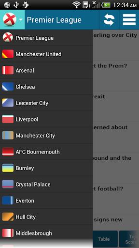 免費下載運動APP Premier League Live Score app開箱文 APP開箱王