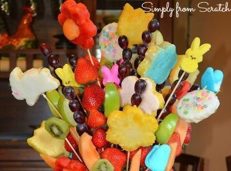 Fruit Flower Arrangement Recipe
