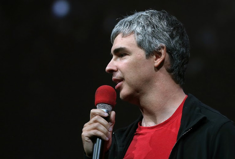 Larry Page, Google co-founder and CEO. File photo.