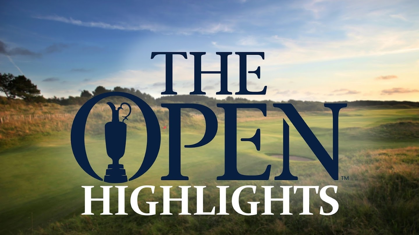 Watch The Open Championship Highlights live