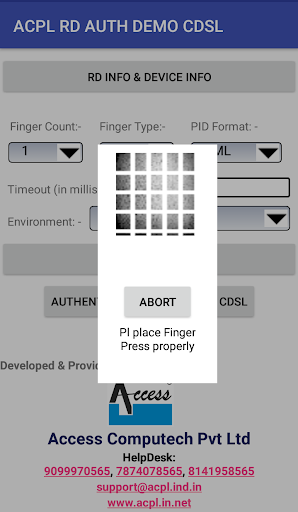 ACPL FM220 Registered Device 1.0.1 screenshots 4