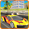 Crazy Car Racer: Car Death Racing Free Game icon